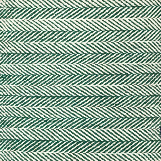 Amen Break white & dark/green von kymo | Formatteppiche