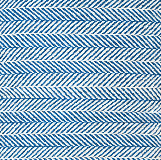 Amen Break white & blue by kymo | Rugs