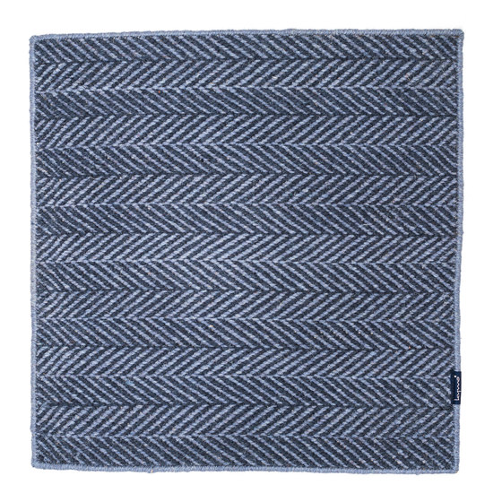 Amen Break cloudy sky & blue grey by kymo | Rugs