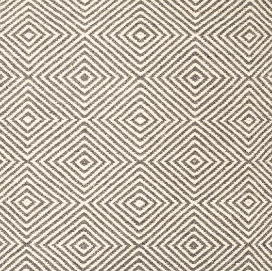 Soundscapes white & grey von kymo | Formatteppiche