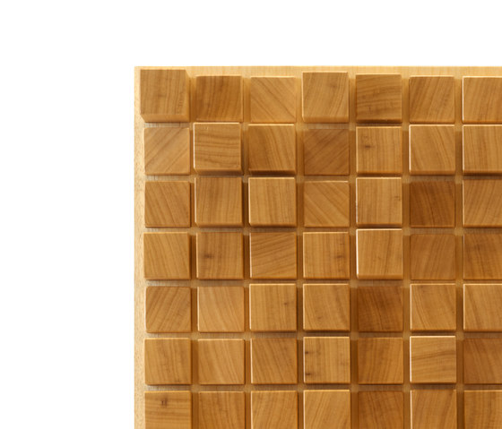 Ideawave | Cube by IDEATEC | Wood panels