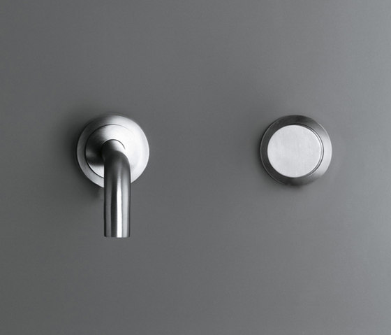 MONO SET03 | Wall mounted cold water tap by COCOON | Wash basin taps