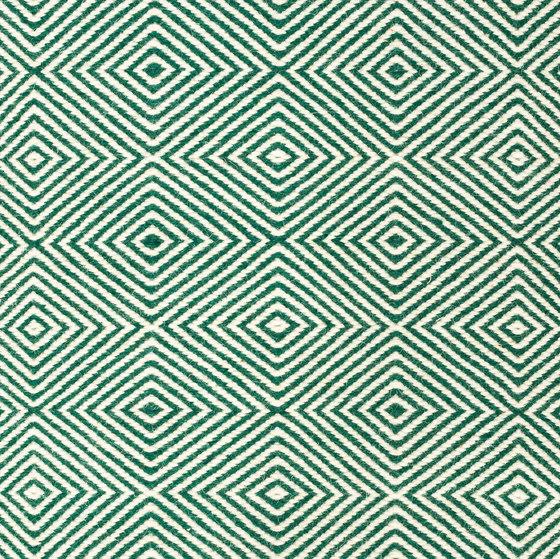 Soundscapes white & dark/green von kymo | Formatteppiche
