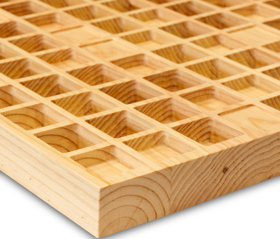 Ideawave | inCube by IDEATEC | Wood panels