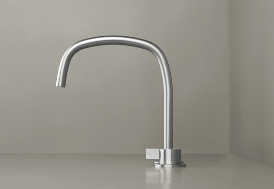 PB SET11 | Deck mounted basin mixer with swivel spout by COCOON | Wash basin taps