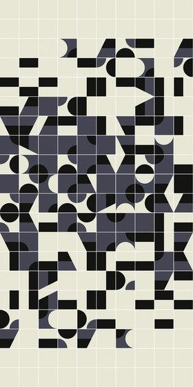 Puzzle Schema 1 pattern von Ceramiche Mutina | Keramik Fliesen