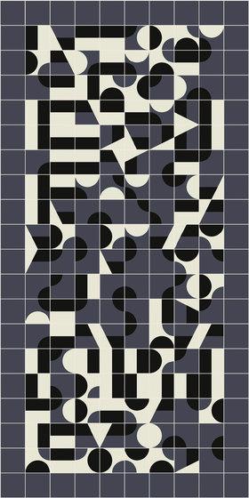 Puzzle Schema 5 pattern von Ceramiche Mutina | Keramik Fliesen