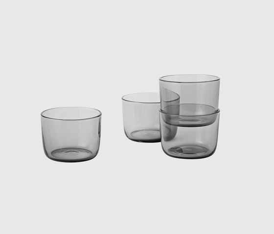 Corky | low glasses by Muuto | Glasses