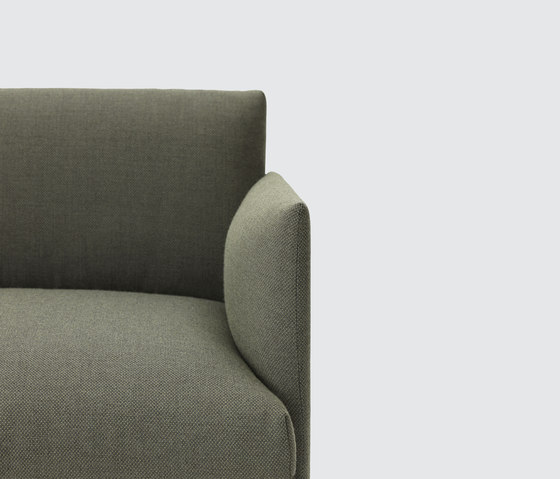 Outline Sofa | 2-seater de Muuto | Sofás lounge