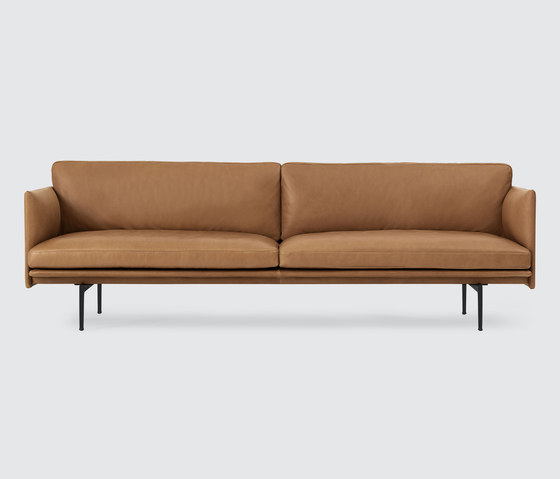 Outline Sofa | 3-seater di Muuto | Divani lounge