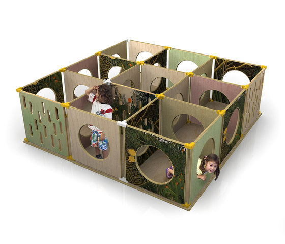 The Maze by Yellow Goat Design | Play furniture