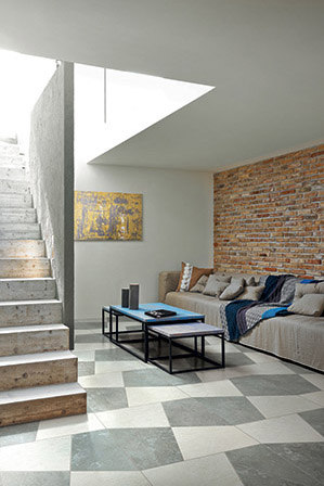 Pietre/3 Limestone White/Ash by FLORIM | Ceramic tiles