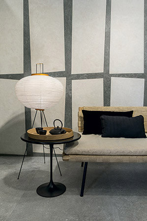 Pietre/3 Limestone Coal/White by FLORIM   Ceramic tiles