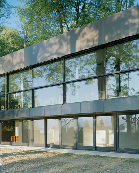 High dimension glasses by OTIIMA | Patio doors