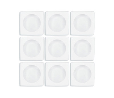 Aperture | f/1.4 Tropical White / Tropical White by Interstyle Ceramic & Glass | Glass mosaics