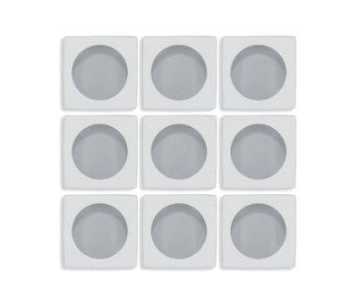 Aperture | f/1.4 Chinchilla / Island Fog de Interstyle Ceramic & Glass | Mosaïques verre