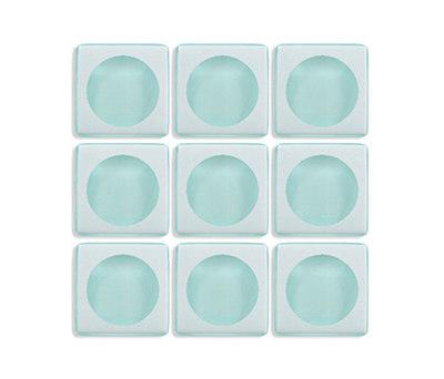 Aperture | f/1.4 Faint Aqua / Infinity by Interstyle Ceramic & Glass | Glass mosaics