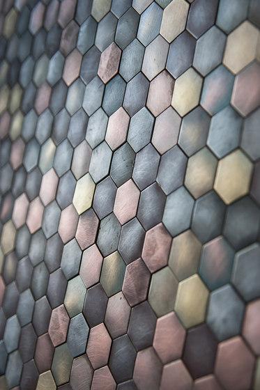Copycat by De Castelli | Metal mosaics