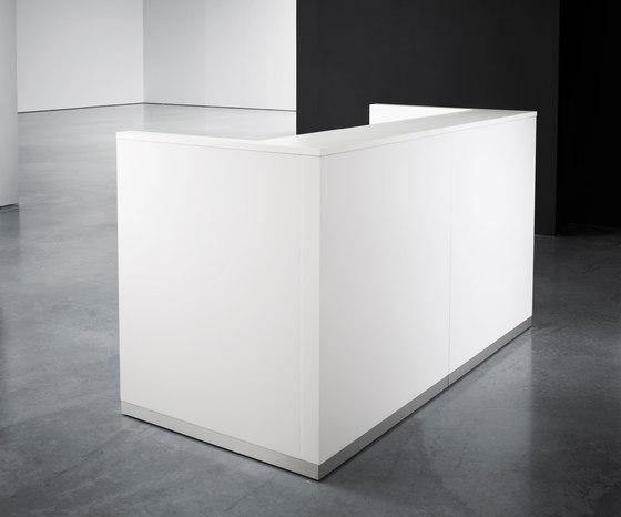 Kubik von Abstracta | Empfangstische