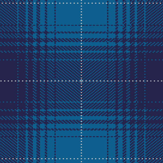 Glen Hi Land Tencel dark sapphire, dark navy & silver grey di kymo | Tappeti / Tappeti design