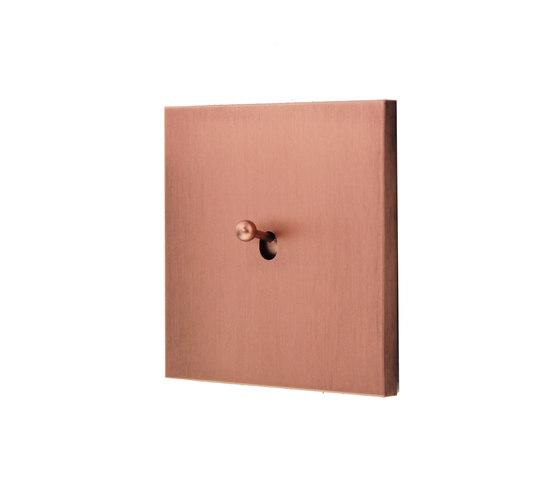 Sydney Drop HD Brushed Copper di Luxonov | Interruttori a leva