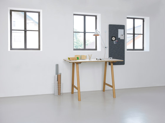 Rail by Zeitraum | Standing tables