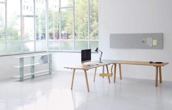 Rail de Zeitraum | Systèmes de tables de bureau