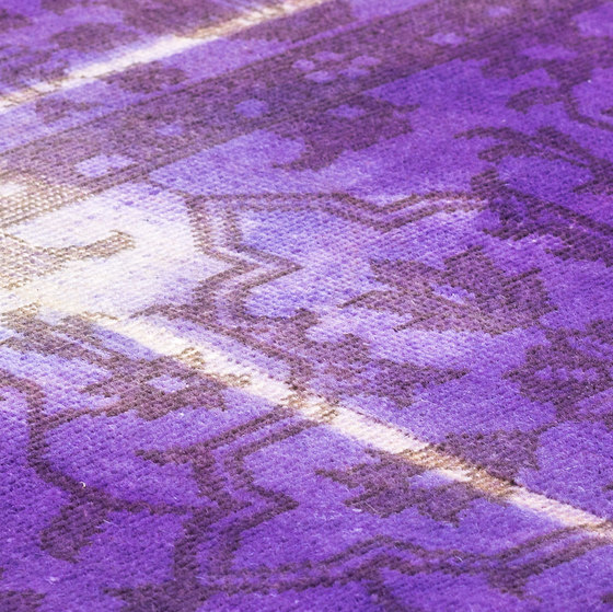 The Mashup Pure Edition Ornamental violet by kymo   Rugs
