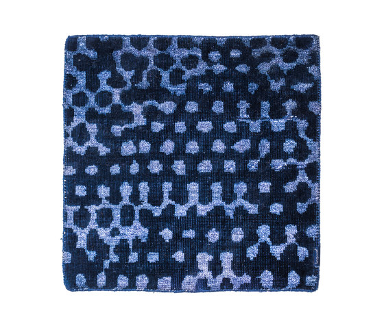 Liquid Funk blue & blue de kymo | Tapis / Tapis design