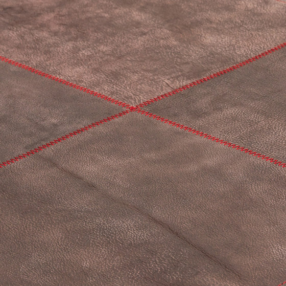 The pure soul desert patina & red by kymo | Rugs