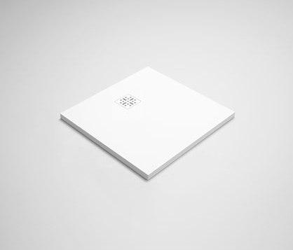 "blu•stone™ shower base 31½"" by Blu Bathworks | Shower trays"