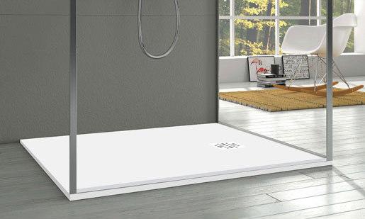 "blu•stone™ shower base 47¼"" by Blu Bathworks   Shower trays"