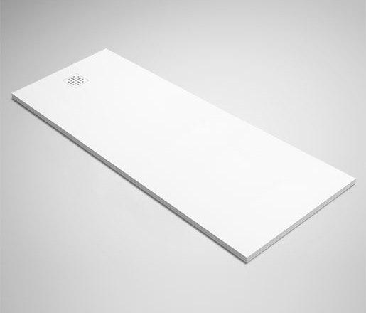 "blu•stone™ shower base 98½"" by Blu Bathworks   Shower trays"