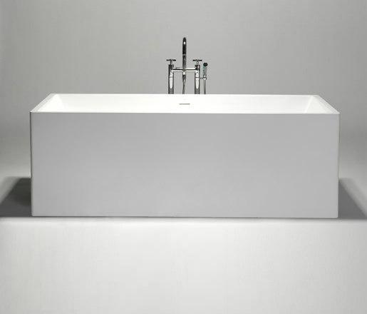 box | blu•stone™ freestanding-bathtub by Blu Bathworks | Bathtubs