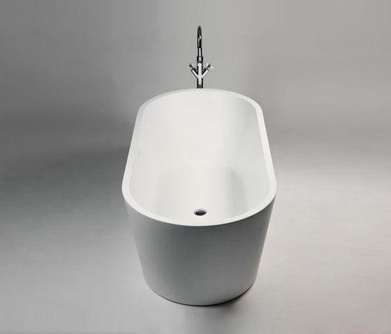 Coco Blu Stone Freestanding Oval Bathtub Free
