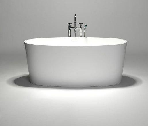 coco | blu•stone™ freestanding oval bathtub de Blu Bathworks | Bañeras