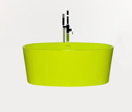 coco | blu•stone™ freestanding oval bathtub by Blu Bathworks | Bathtubs