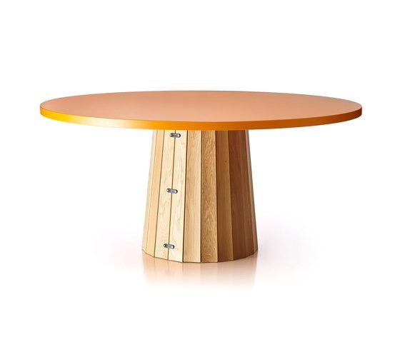 Container Table Bodhi With Linoak Top von moooi | Esstische