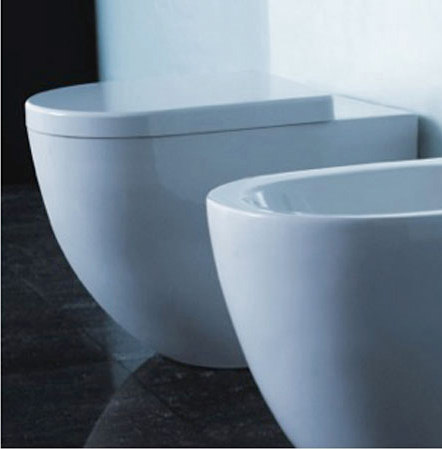 Halo Dual Flush Floor Mounted Toilet Wc From Blu