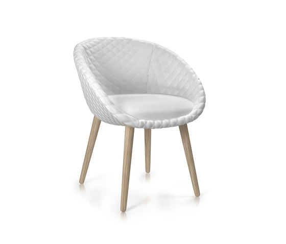 love chair di moooi | Sedie