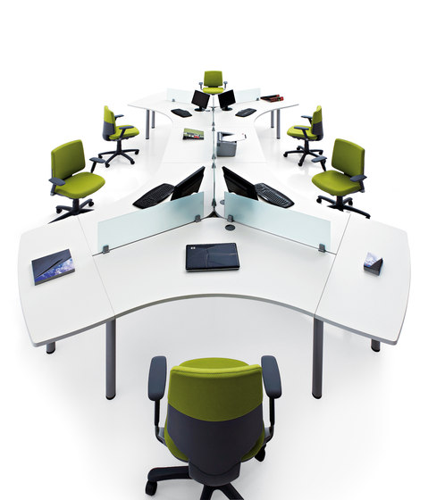 Cool C300-C500 by actiu | Table dividers