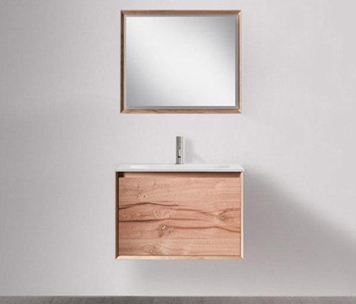 45º furniture | M1 series 700 mirror with LED lighting by Blu Bathworks | Bath mirrors