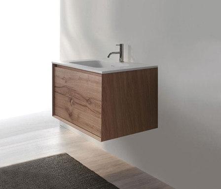 45º furniture | FULL • series 900 wall-mount vanity de Blu Bathworks | Armarios lavabo