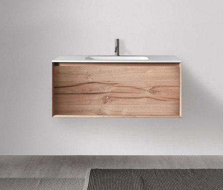 45º furniture | FULL • series 1200 wall-mount vanity de Blu Bathworks | Armarios lavabo