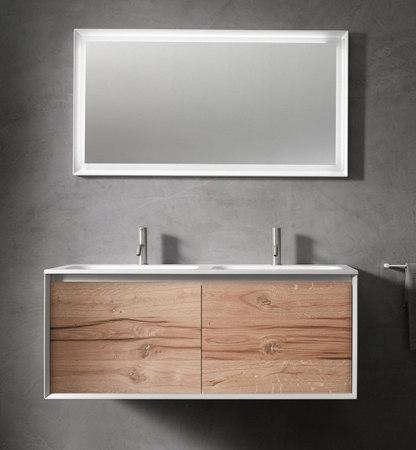 45º furniture | FULL • series 1400 wall-mount vanity by Blu Bathworks | Vanity units