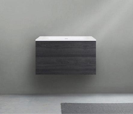 51 furniture   series 700 wall-mount vanity by Blu Bathworks   Vanity units