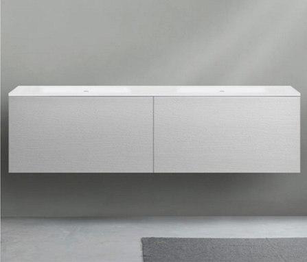 51 furniture | series 1800 wall-mount vanity by Blu Bathworks | Vanity units
