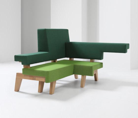 #002.04 WorkSofa von Prooff | Modulare Sitzelemente