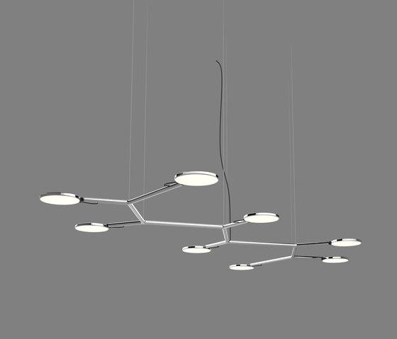 Avveni Pendant6|8 de Sattler | Lámparas de suspensión