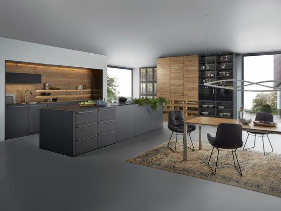 Bondi   Valais di Leicht Küchen AG   Cucine parete